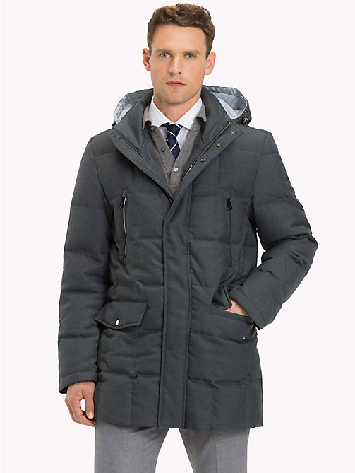 TOMMY HILFIGER Hooded Padded Coat - 011 - TOMMY HILFIGER Sustainable Evolution - main image
