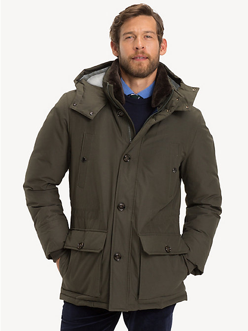 TOMMY HILFIGER Hooded Parka - 309 - TOMMY HILFIGER Sustainable Evolution - main image