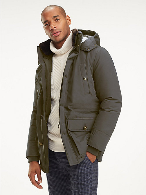 TOMMY HILFIGER Hooded Parka - 429 - TOMMY HILFIGER Suits & Tailored - main image