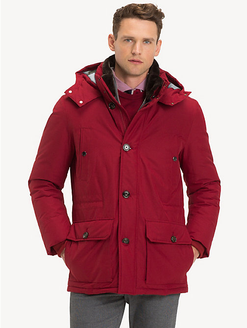 TOMMY HILFIGER Parka con cappuccio - 618 - TOMMY HILFIGER Sustainable Evolution - immagine principale