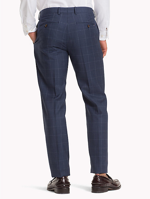 TOMMY HILFIGER Slim Fit Wool Check Blazer - 422 422 - TOMMY HILFIGER Formal Trousers - detail image 1