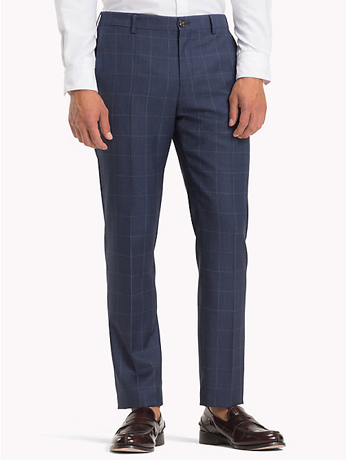 TOMMY HILFIGER Slim Fit Wool Check Blazer - 422 422 - TOMMY HILFIGER Trousers & Shorts - main image