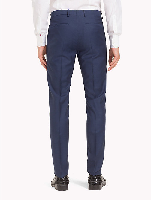 TOMMY HILFIGER Virgin Wool Suit Trousers - 425 - TOMMY HILFIGER Clothing - detail image 1