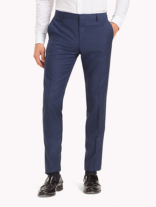 TOMMY HILFIGER Virgin Wool Suit Trousers - 425 - TOMMY HILFIGER Clothing - main image