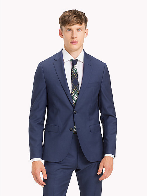 TOMMY HILFIGER Virgin Wool TH-Flex Blazer - 425 - TOMMY HILFIGER Clothing - main image
