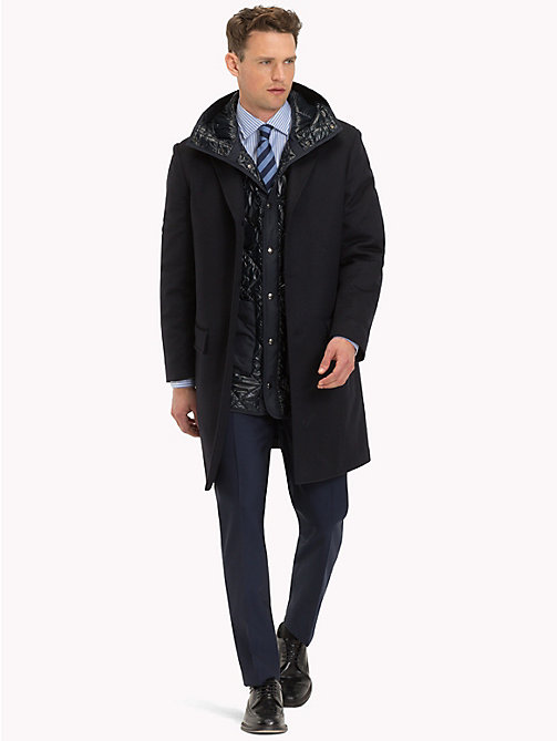 TOMMY HILFIGER 2-in-1 Wool Coat - 429 - TOMMY HILFIGER Suits & Tailored - detail image 1