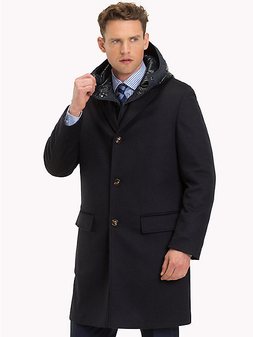 TOMMY HILFIGER 2-in-1 Wool Coat - 429 -  Coats - main image