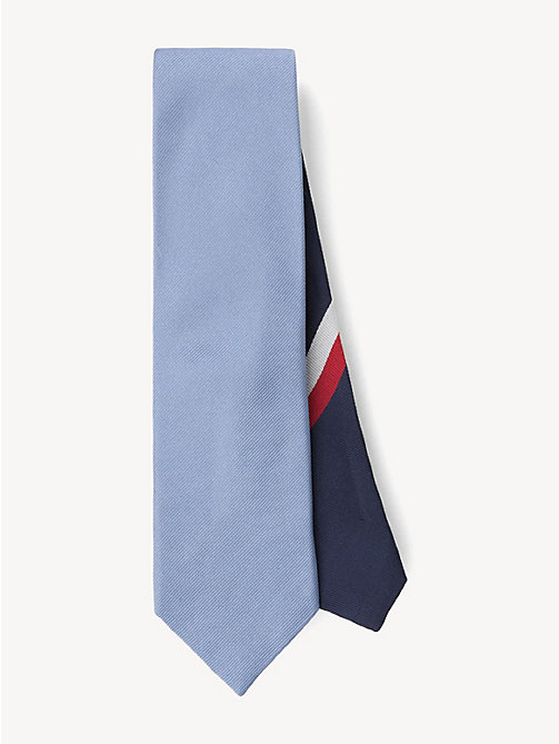 TOMMY HILFIGER Ribbed Silk Tie - 412 - TOMMY HILFIGER Ties & Pocket Squares - main image