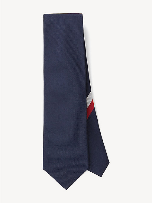 TOMMY HILFIGER Ribbed Silk Tie - 428 - TOMMY HILFIGER Ties & Pocket Squares - main image
