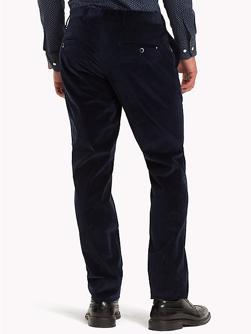 TOMMY HILFIGER Slim Fit Corduroy Trousers - 427 - TOMMY HILFIGER Formal Trousers - detail image 1
