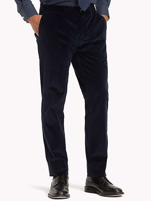 TOMMY HILFIGER Slim Fit Corduroy Trousers - 427 - TOMMY HILFIGER Formal Trousers - main image