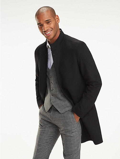 TOMMY HILFIGER Wool Blend Coat - 099 - TOMMY HILFIGER Suits & Tailored - main image