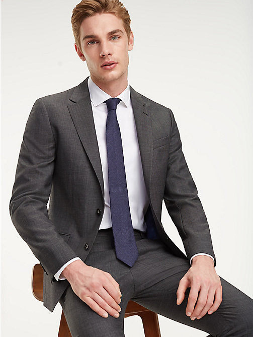 TOMMY HILFIGER Virgin Wool Suit Blazer - 029 - TOMMY HILFIGER Tailored - main image