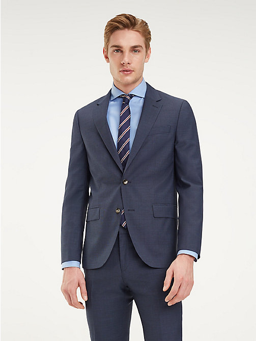 TOMMY HILFIGER Wool Peak Lapel Blazer - 425 - TOMMY HILFIGER Tailored - main image