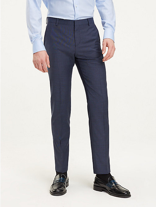 TOMMY HILFIGER Virgin Wool Suit Trousers - 425 - TOMMY HILFIGER Formal Trousers - main image