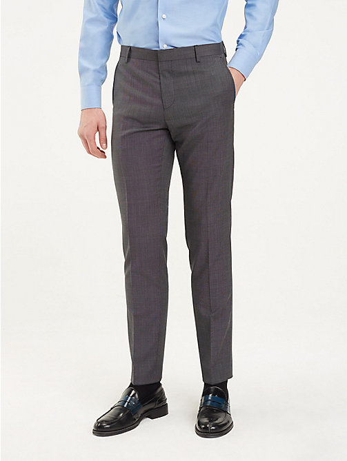 TOMMY HILFIGER Pressed Slim Fit Trousers - 026 - TOMMY HILFIGER Formal Trousers - main image