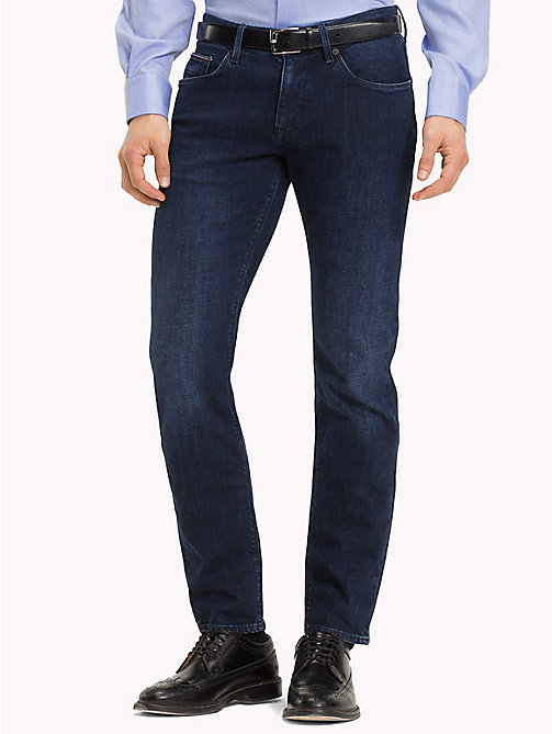 TOMMY HILFIGER Bleecker Stretch Jeans - INDIGO - TOMMY HILFIGER Slim-Fit Jeans - main image