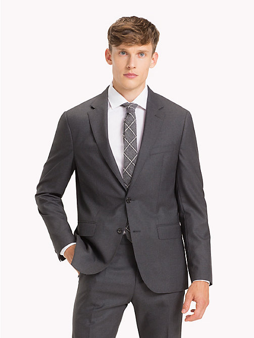 TOMMY HILFIGER Pure Wool Tailored Suit - 029 - TOMMY HILFIGER Fitted - main image
