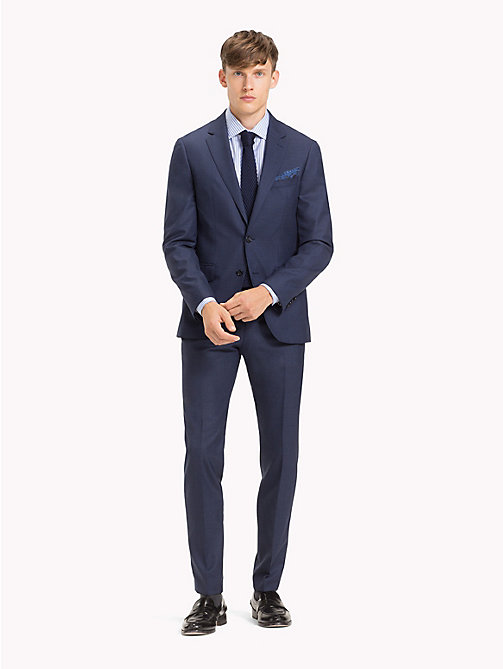 TOMMY HILFIGER Pure Wool Tailored Suit - 425 - TOMMY HILFIGER Fitted - main image