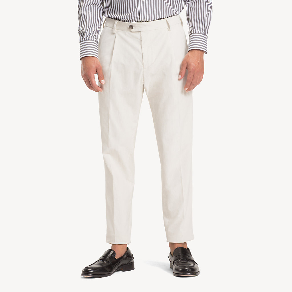 Tommy Hilfiger - Corduroy Slim Fit Trousers - 1