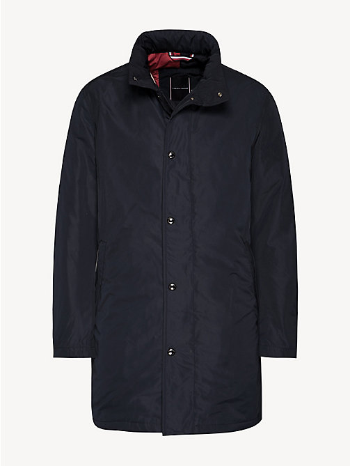 TOMMY HILFIGER Stand-Up Collar Padded Coat - SKY CAPTAIN - TOMMY HILFIGER Coats - detail image 1