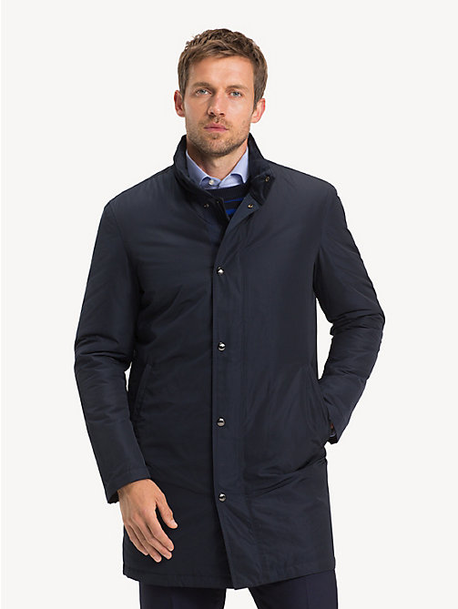 TOMMY HILFIGER Stand-Up Collar Padded Coat - SKY CAPTAIN - TOMMY HILFIGER Coats & Jackets - main image