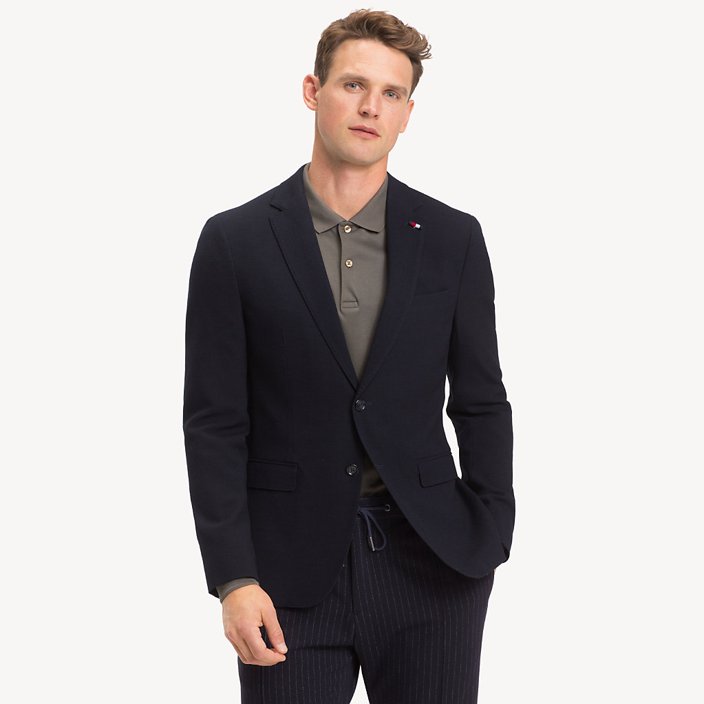 Tommy Hilfiger - Wool Blend Extra Slim Fit Blazer - 1