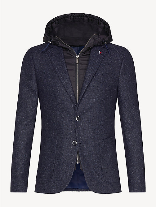 TOMMY HILFIGER Hooded Slim Fit Blazer - MEDIVAL BLUE - TOMMY HILFIGER Something Special - detail image 1
