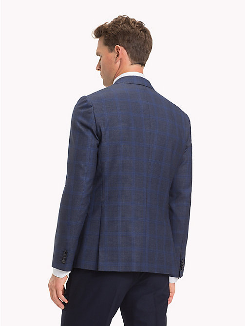 TOMMY HILFIGER Houndstooth Blazer - DUTCH BLUE - TOMMY HILFIGER NEW IN - detail image 1