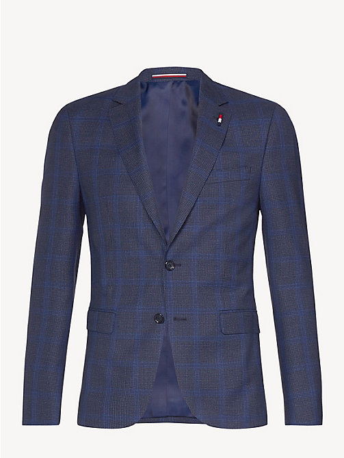 TOMMY HILFIGER Houndstooth Blazer - DUTCH BLUE - TOMMY HILFIGER Something Special - detail image 1