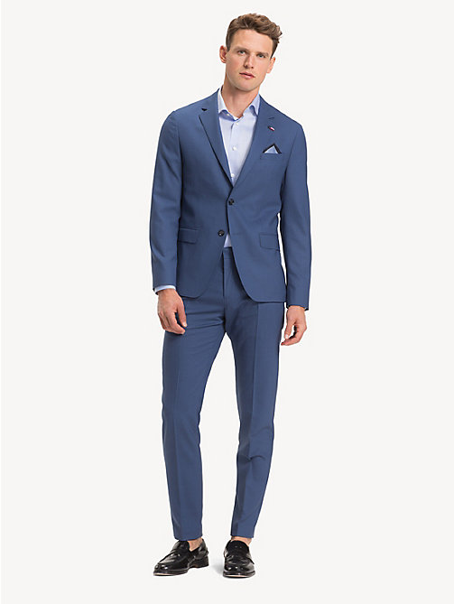TOMMY HILFIGER TH Flex Pure Wool Suit - RIVIERA - TOMMY HILFIGER Suits - main image