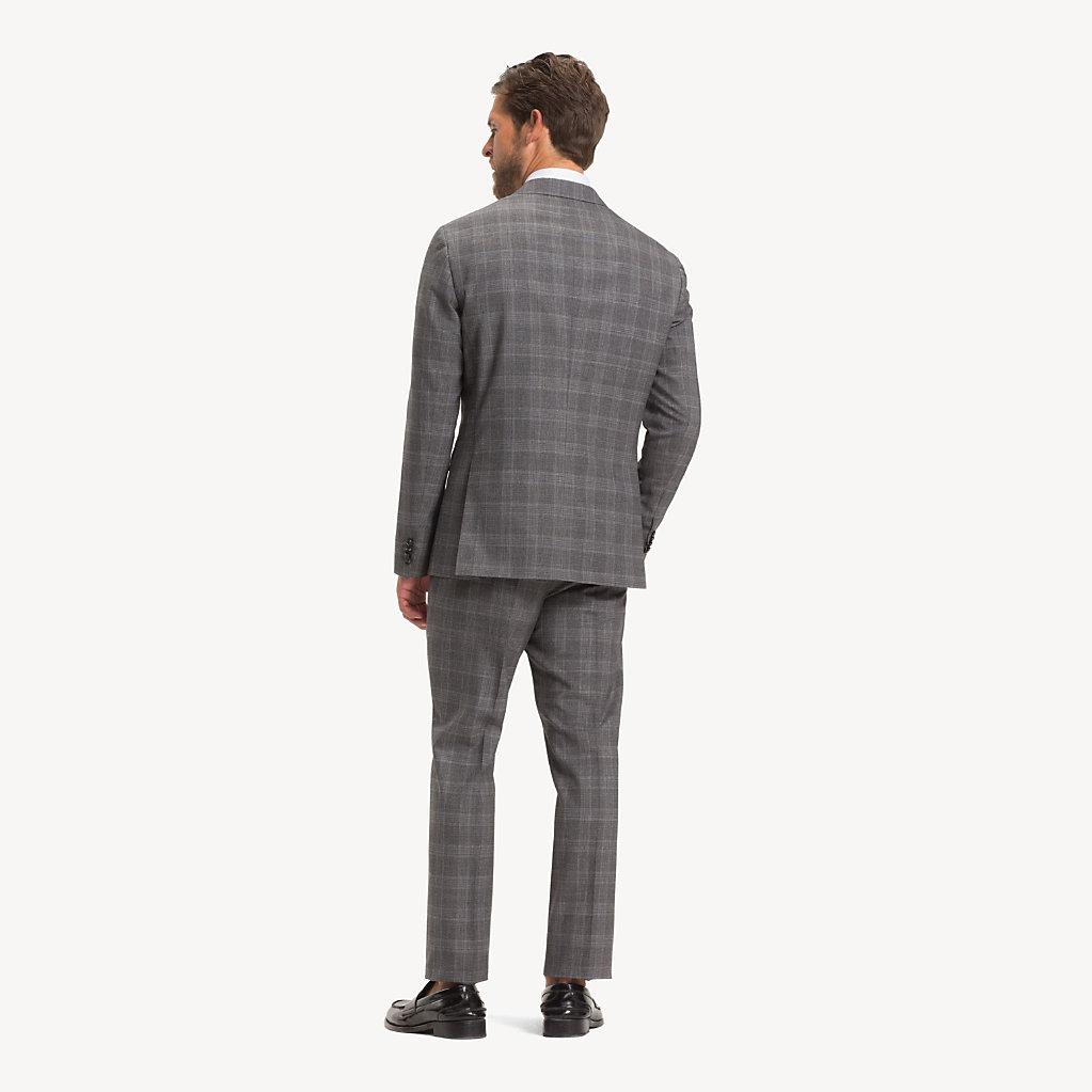 Tommy Hilfiger - Anzug aus Wolle mit Glencheck-Karos - 2