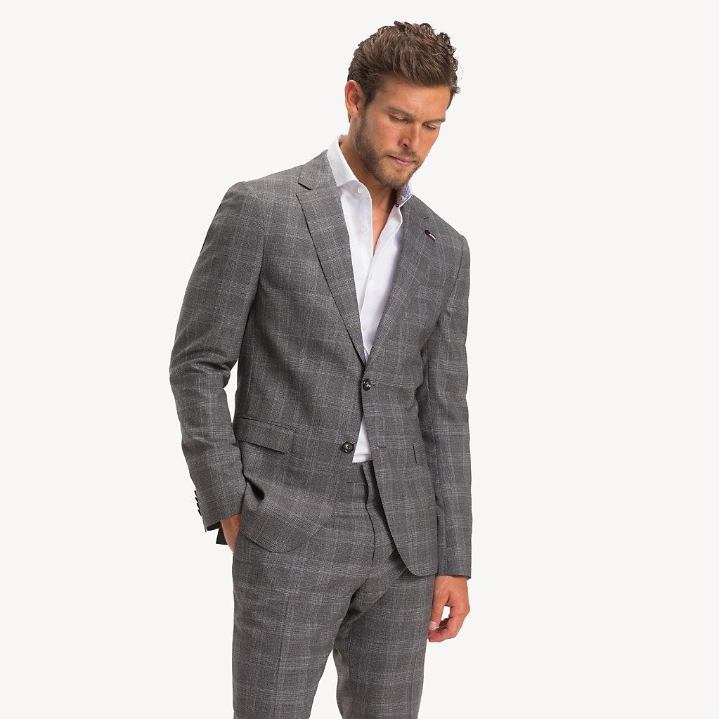 Tommy Hilfiger - Anzug aus Wolle mit Glencheck-Karos - 3