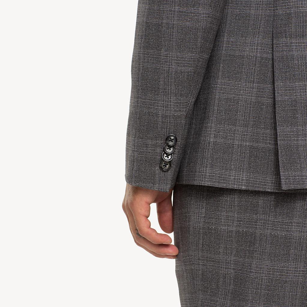 Tommy Hilfiger - Anzug aus Wolle mit Glencheck-Karos - 4