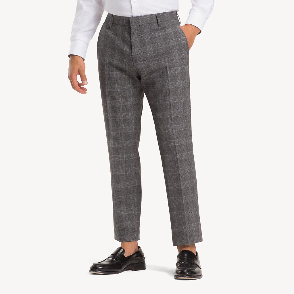 Tommy Hilfiger - Anzug aus Wolle mit Glencheck-Karos - 5