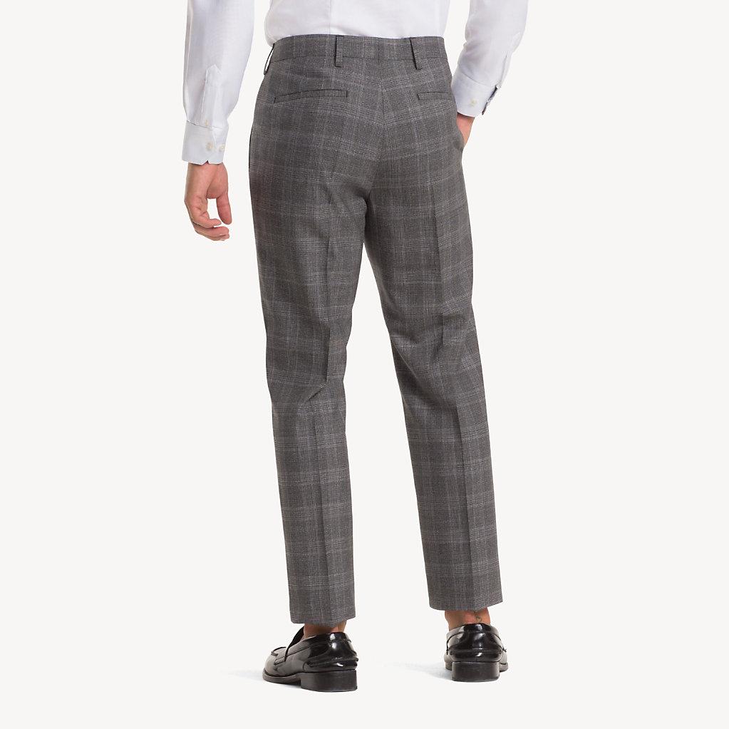 Tommy Hilfiger - Anzug aus Wolle mit Glencheck-Karos - 6