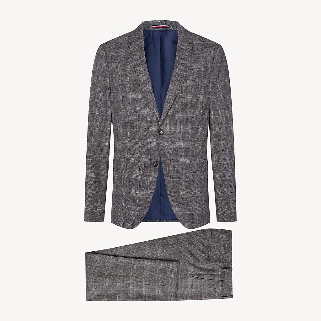 Tommy Hilfiger - Anzug aus Wolle mit Glencheck-Karos - 7