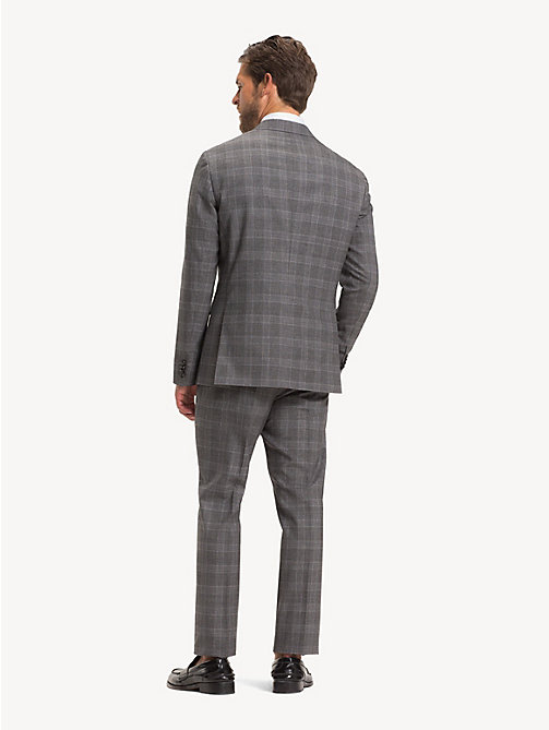 TOMMY HILFIGER Wool Glen Check Suit - CLOUDBURST - TOMMY HILFIGER NEW IN - detail image 1