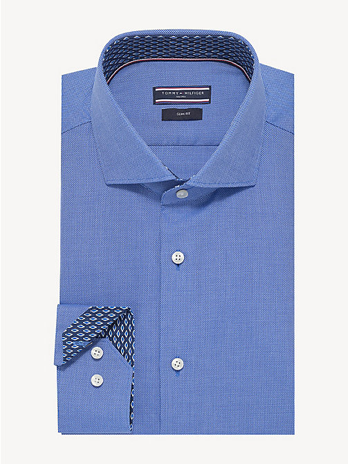 TOMMY HILFIGER Camicia Oxford con colletto alla francese - MOONLIGHT BLUE - TOMMY HILFIGER Camicie Eleganti - immagine principale