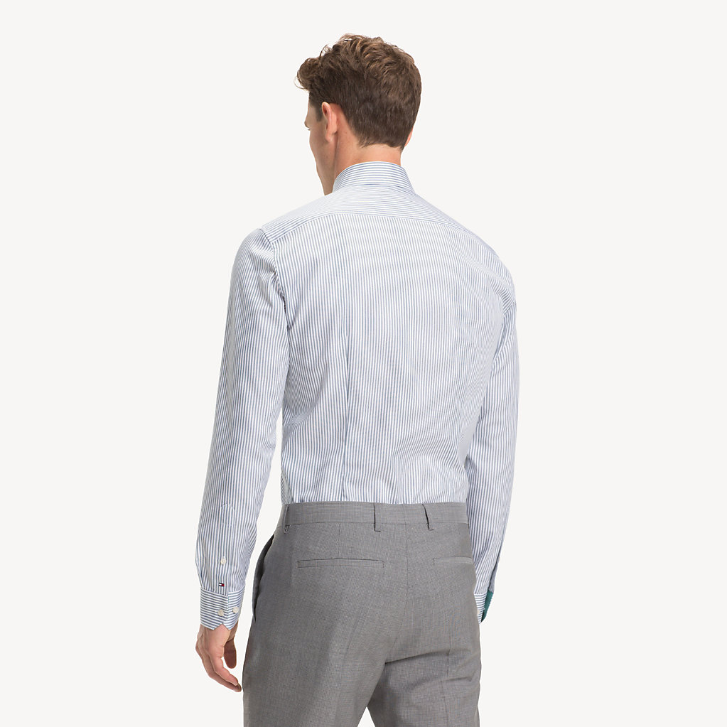 Tommy Hilfiger - Camisa Oxford de rayas - 3