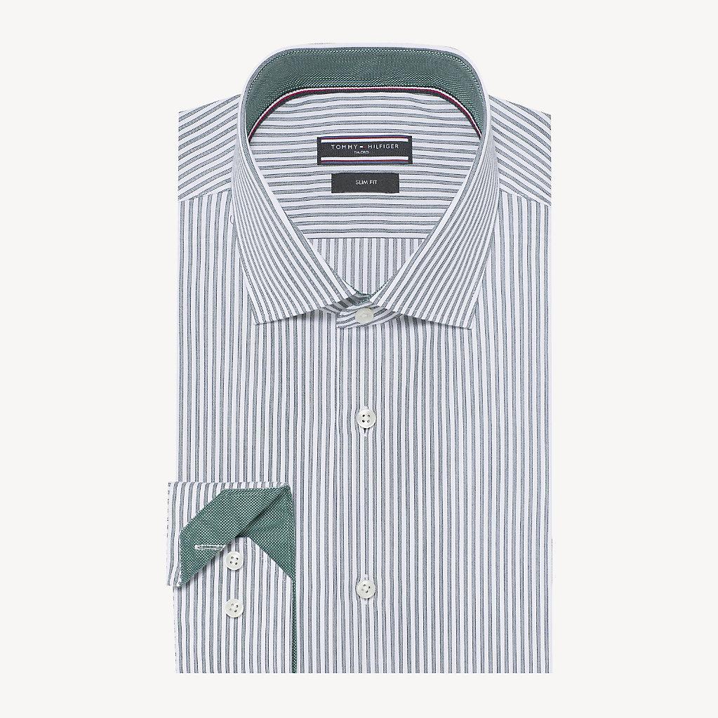 Tommy Hilfiger - Camisa Oxford de rayas - 1