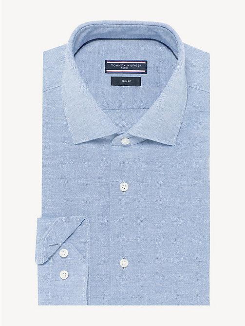 TOMMY HILFIGER Klassisches Hemd aus gewaschener Baumwolle - DUTCH BLUE - TOMMY  HILFIGER Businesshemden - main ... 8e48625fb1