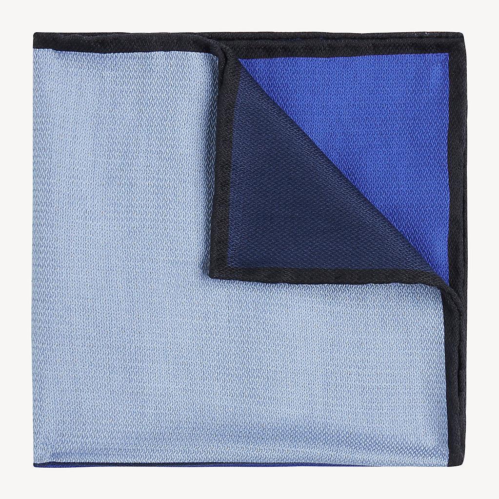 Tommy Hilfiger - Pañuelo de bolsillo con diseño color block - 1