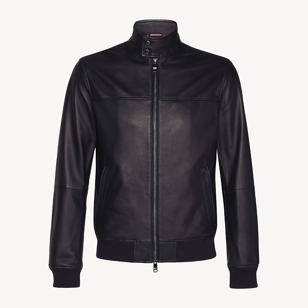 Tommy Hilfiger - Leather Collar Jacket - 6