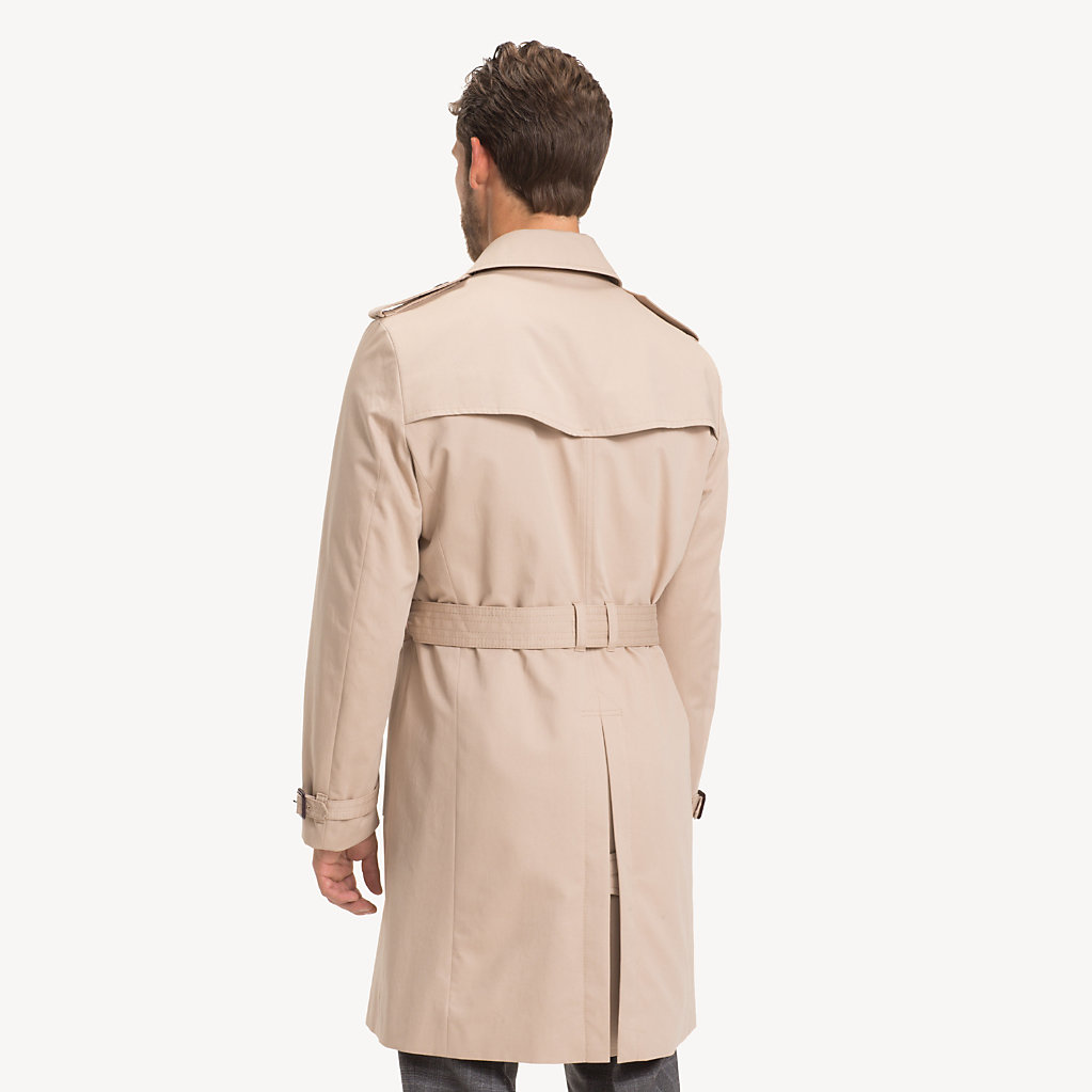 Tommy Hilfiger - Pure Cotton Trench Coat - 2