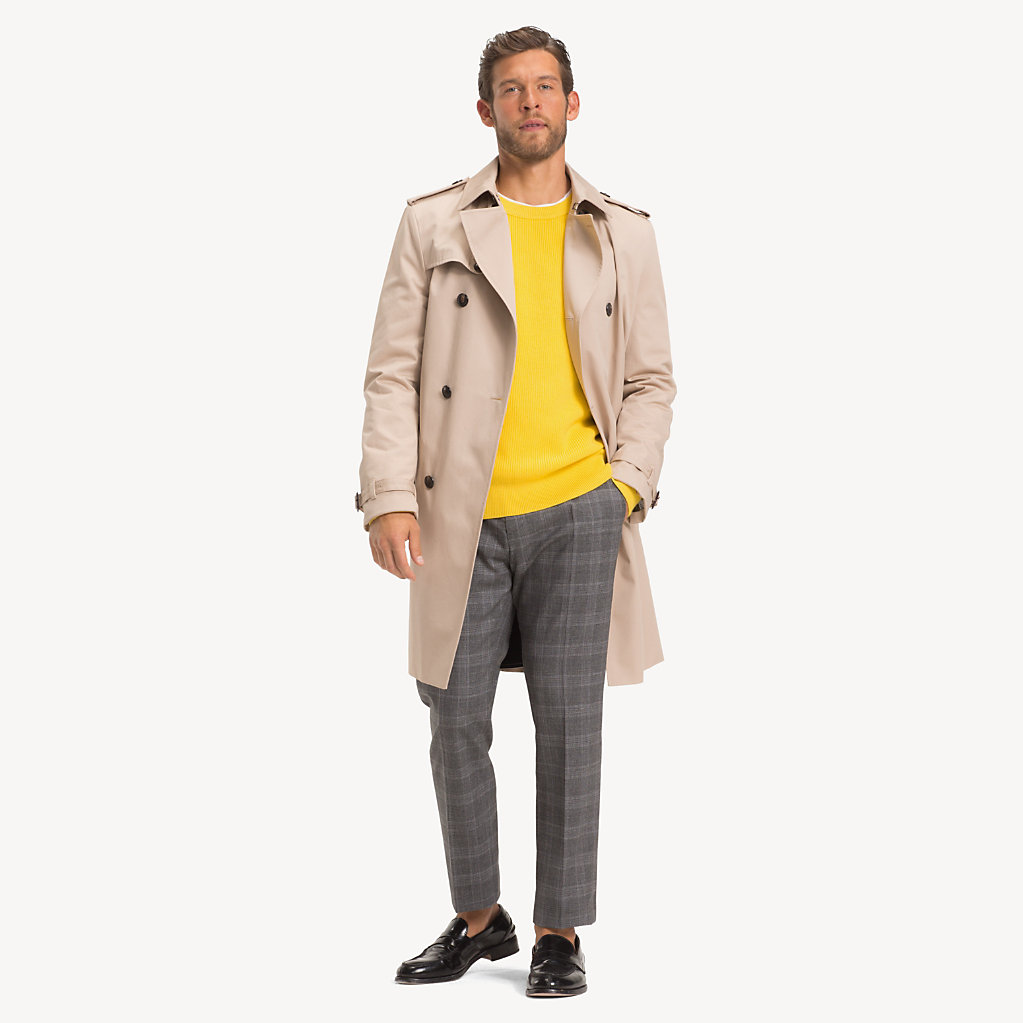 Tommy Hilfiger - Pure Cotton Trench Coat - 3