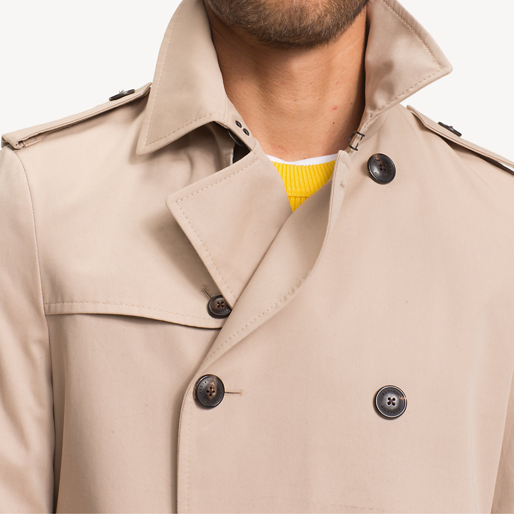 Tommy Hilfiger - Pure Cotton Trench Coat - 4
