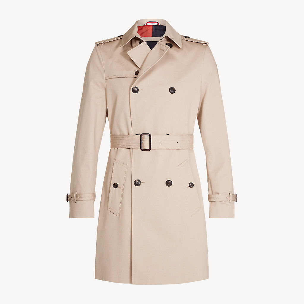 Tommy Hilfiger - Pure Cotton Trench Coat - 5
