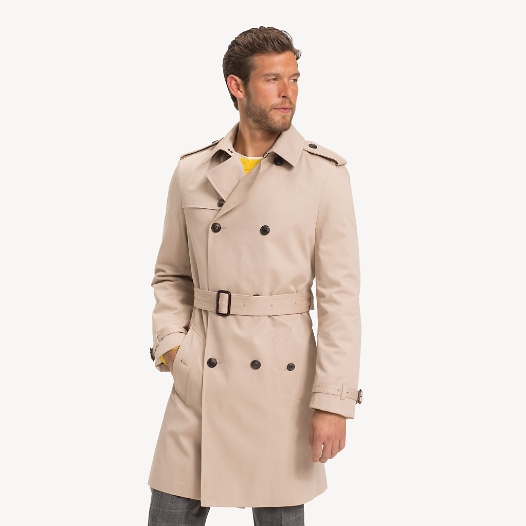 Tommy Hilfiger - Pure Cotton Trench Coat - 1