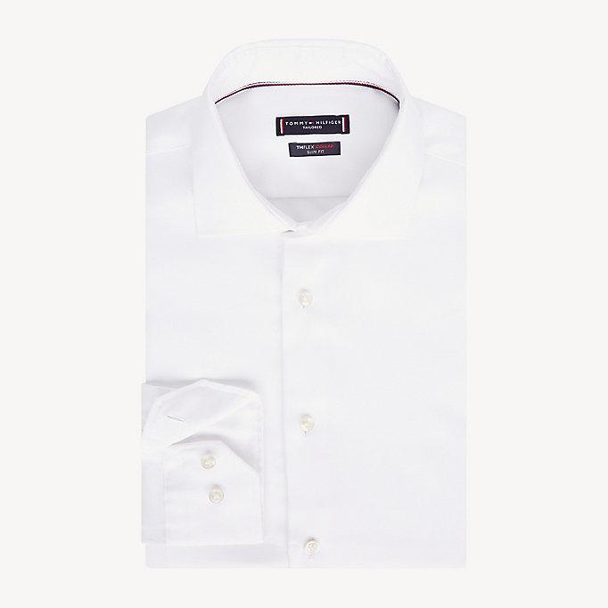 Slim Fit Hemd mit TH Flex Kragen